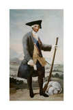 King Charles Iii as a Huntsman, 1786-88 Giclee Print by Francisco de Goya