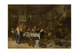 Jolly Party Poster by Jan Steen
