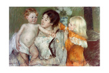 Après le bain Impression giclée par Mary Cassatt