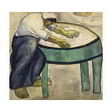 The Washerwoman, 1911 Giclee Print by Kasimir Malevich