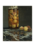 The Peach Glass, 1866 Giclee Print by Claude Monet