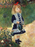 Girl with Watering Can, 1876 Giclee Print by Pierre-Auguste Renoir