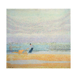 Fisherman Catching Mussels, 1891 Giclee Print by Jan Toorop