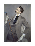 Portrait of the Writer Count Robert De Montesquiou (1855-1921), 1897 Giclee Print by Giovanni Boldini