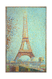 La Tour Eiffel (Eiffel Tower), 1889 Giclee Print by Georges Seurat