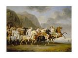 Riding Amazons, 1788 Giclee Print by Johann Heinrich Wilhelm Tischbein