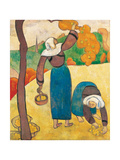 Breton Peasant Women (Paysannes Bretonnes), Ca 1889 Giclée-Druck von Emile Bernard