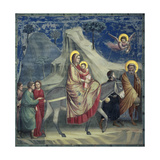 Flight into Egypt, 1303-1305 Giclee Print by  Giotto di Bondone