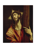 Christus Carrying the Cross, Between 1579 and 1604 Giclee Print by  El Greco