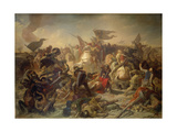 Battle of Lechfeld 955 Giclee Print by Michael Echter