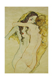 Zwei Frauen in Umarmung, 1911 Giclee Print by Egon Schiele