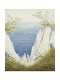 Chalk Cliffs on Rugen, 1825-26 Giclee Print by Caspar David Friedrich