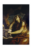 The Penitent Magdalene in the Grotto Giclee Print by Mattia Preti