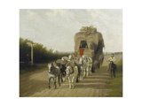 The Stage Coach of Ludlow, 1801 Giclee Print by Jacques Laurent Agasse
