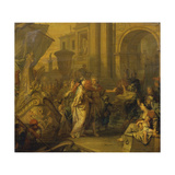 The Arrival of Cleopatra in Tarsus Giclee Print by Gerard De Lairesse