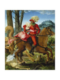 The Knight, the Young Girl and Death Giclee Print by Hans Baldung
