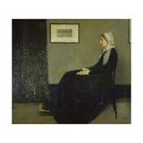 Portrait of the Artist's Mother, 1871 Giclee Print by James McNeill Whistler