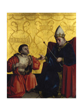 Antipater in Front of Julius Caesar, C. 1435 Giclee Print by Konrad Witz