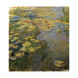 The Waterlily Pond, 1919 Giclee Print by Claude Monet