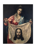 St, Veronica with the Shroud of Christ, C. 1602-07 Prints by  El Greco