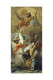 The Vision of St Anna, 1759 Prints by Giovanni Battista Tiepolo