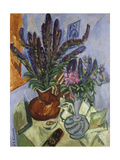 Still Life with Vase of Flowers, 1912 Giclee Print by Ernst Ludwig Kirchner