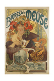 Meuse Beer, 1897 Giclee Print by Alphonse Mucha