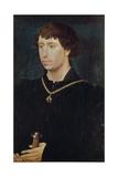 Portrait of Charles the Bold Giclee Print by Rogier van der Weyden