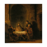 The Supper at Emmaus, 1648 Prints by  Rembrandt van Rijn
