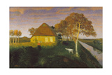 Moorkate at Sunset, 1899 Giclee Print by Otto Modersohn