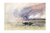 A Storm over Venice Giclee Print by Joseph Mallord William Turner