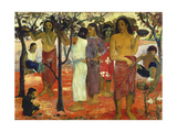 Nave Nave Mahana (Delightful Days), 1896 Giclee Print by Paul Gauguin