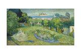 Vincent van Gogh - The Garden of Daubigny, 1890 Digitálně vytištěná reprodukce