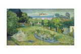 The Garden of Daubigny, 1890 Giclee Print by Vincent van Gogh