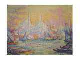 View of Istanbul, 1907 Giclee Print by Paul Signac