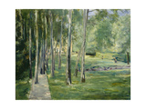 House at Lake Wannsee, 1919-24 Giclee Print by Max Liebermann