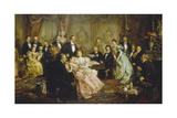 A Night with Johann Strauss, 1894 Giclee Print by Franz Von Bayros