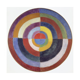 Premier Disque, 1913-14 Giclee Print by Robert Delaunay