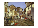 A Spanish Wedding Ceremony, 1873 Giclee Print by Placido Frances y Pascual