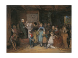 The Registration Giclee Print by Franz Von Defregger