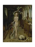 Love Charm Giclee Print by Niederrheinischer Meister