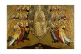 The Ascension of the Virgin Giclée-tryk af Sassetta,