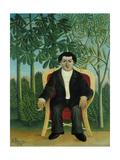 Portrait of Joseph Brummer, 1909 Giclee Print by Henri Rousseau