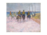 Reiter Am Strand (I) (Cavaliers Sur La Plage), 1902 Giclee Print by Paul Gauguin