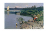 Riverbank, 1887 Giclee Print by Walter Leistikow