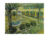 The Asylum Garden at Arles, 1889 Giclee Print by Vincent van Gogh