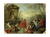 Winter, 1738 Posters by Nicolas Lancret