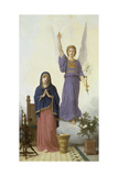 Annunciation Prints by William Adolphe Bouguereau