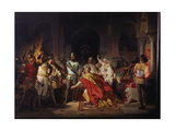 Humiliation of Emperor Frederick Barbarossa by Henry the Lion 1176 Giclee Print by Philipp Foltz
