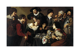The Dentist. C. 1628 Giclee Print by Theodore Chasseriau